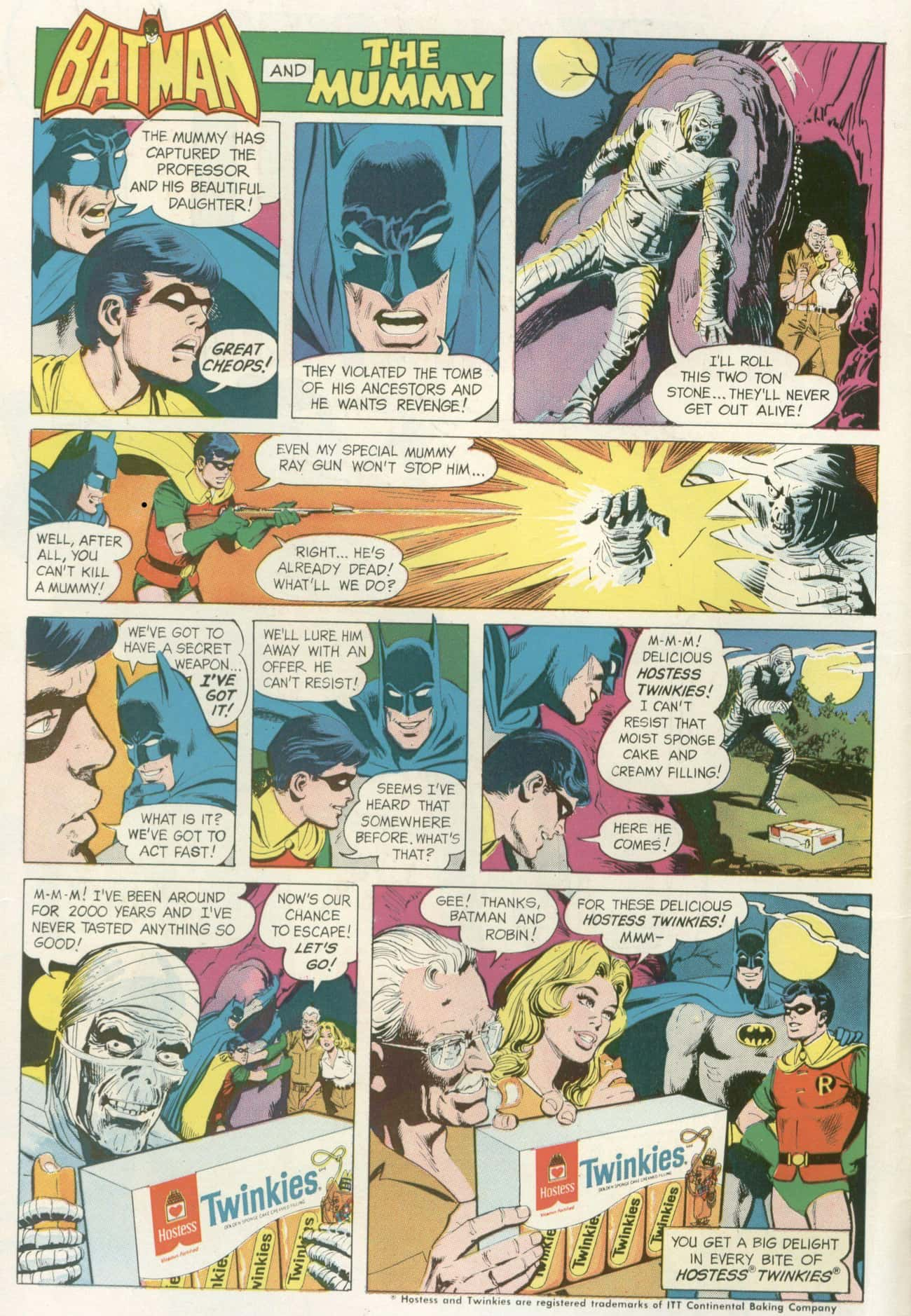 The Mummy's No Match For Batman AND Twinkies