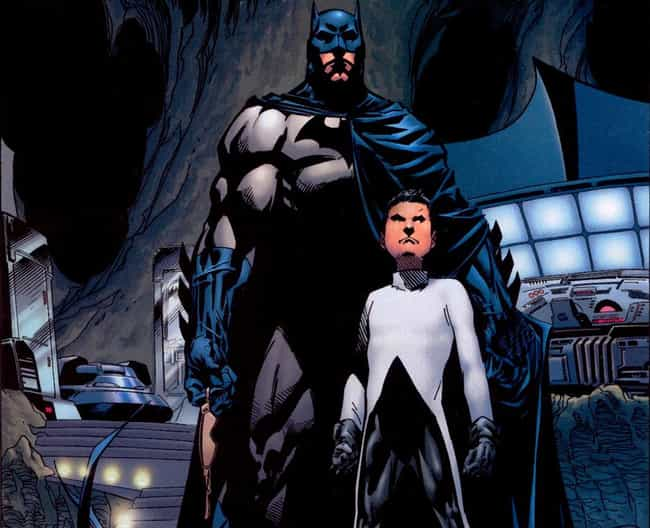 Batman is listed (or ranked) 3 on the list Superheroes with Children