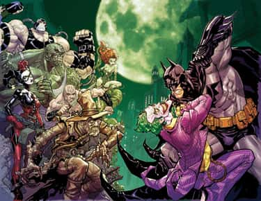 Batman is listed (or ranked) 1 on the list The Superheroes With the Best Rogues Galleries