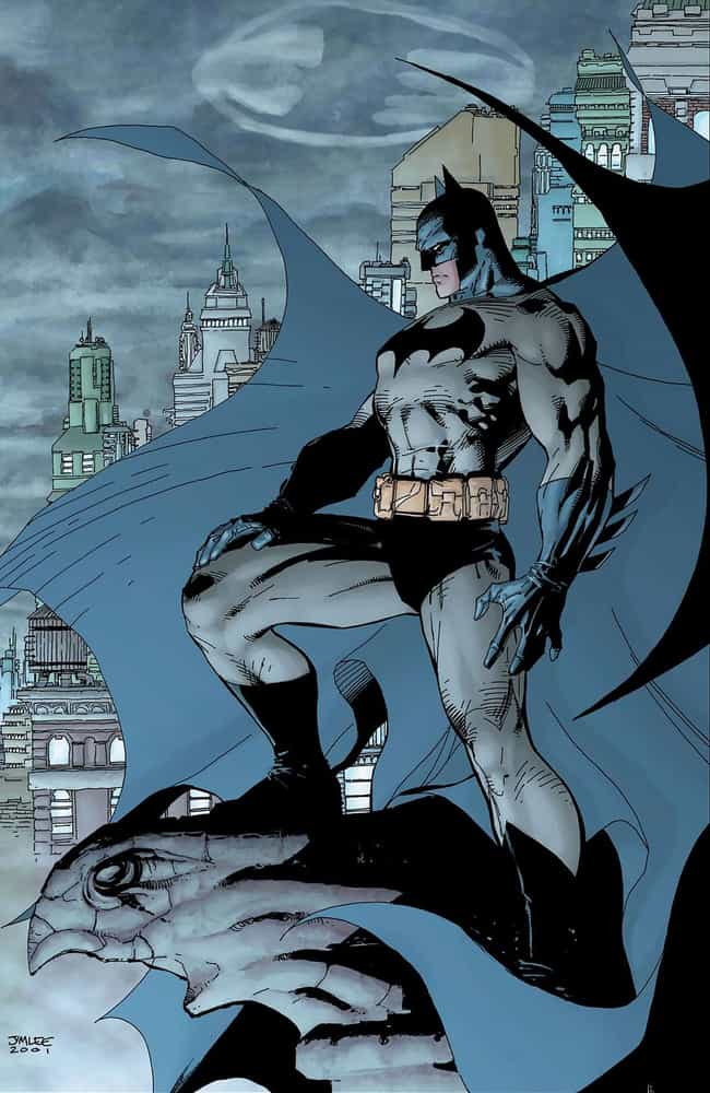 Batman is listed (or ranked) 1 on the list The Best Superhero Capes & Cloaks in Comics