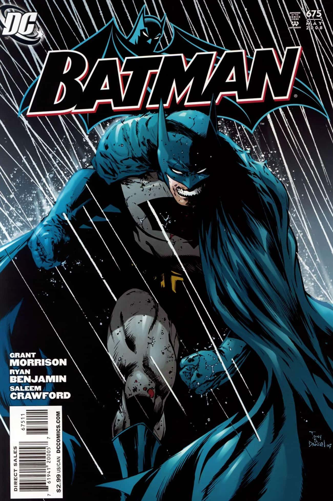 Batman is listed (or ranked) 1 on the list Top 100 Most Popular Superheroes and Villains in Comic Books