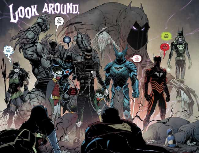 Batman is listed (or ranked) 1 on the list What Happened To All Your Favorite DC Comic Book Characters In 2017