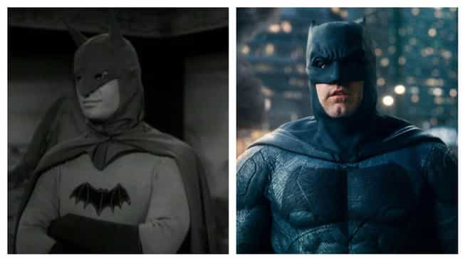 Batman is listed (or ranked) 2 on the list The Best Superhero Evolution on Film