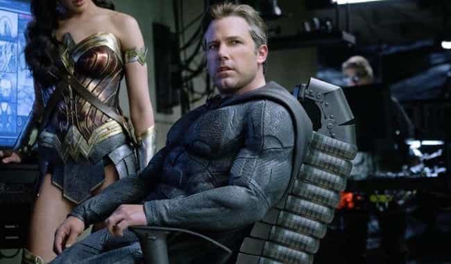 Batman is listed (or ranked) 4 on the list The Least Comfortable Superhero Costumes That Actors Have Had To Wear