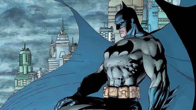 Batman is listed (or ranked) 1 on the list The Most Emo Marvel And DC Superheroes