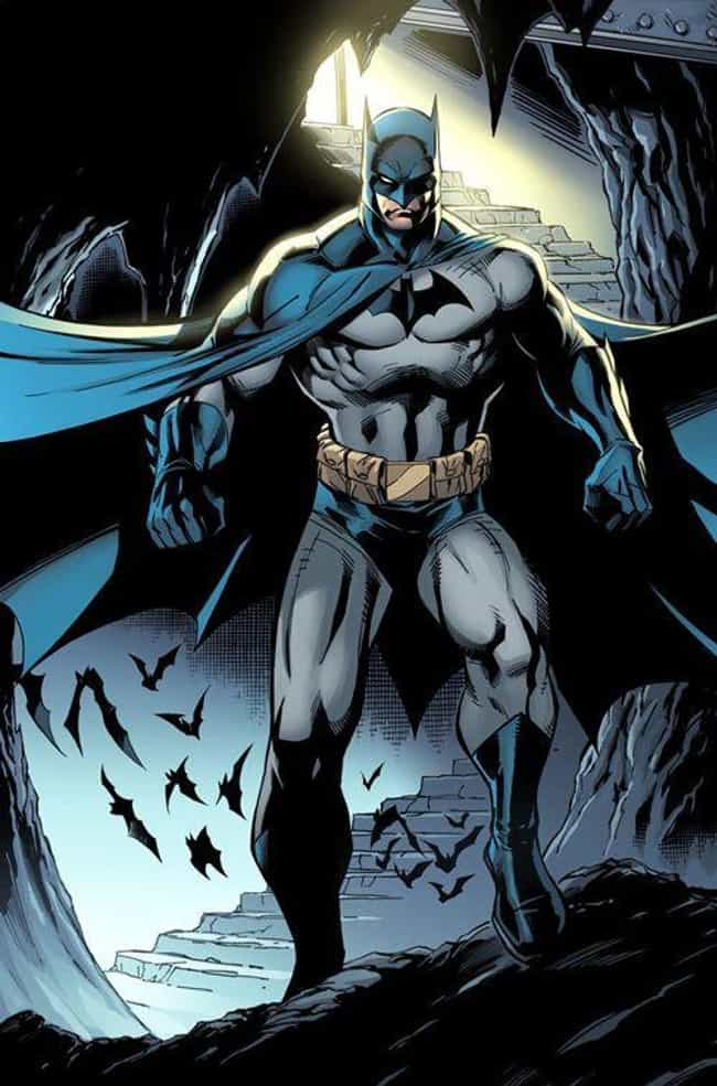 Batman is listed (or ranked) 1 on the list The Hottest Male Comic Book Characters