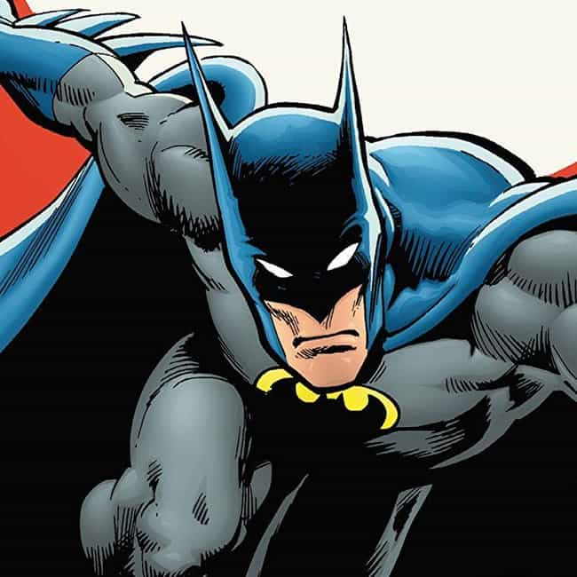 Batman is listed (or ranked) 4 on the list The 20 Richest Comic Book Characters of All Time