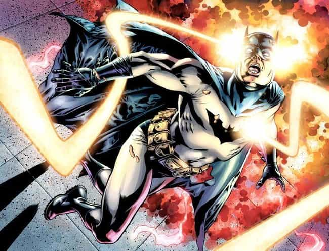 Batman is listed (or ranked) 4 on the list 13 Comic Book Characters Who Are Constantly Dying