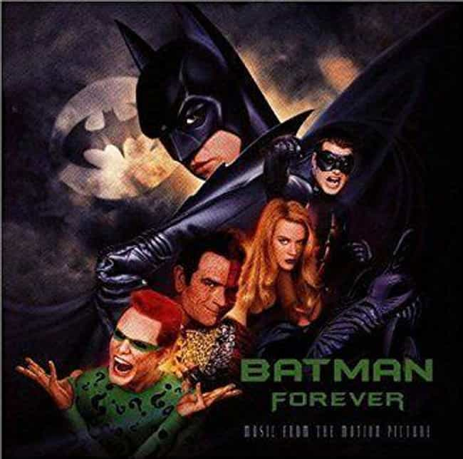 Batman Forever is listed (or ranked) 1 on the list 12 Epic '90s Soundtracks That Are Better Than The Actual Movie