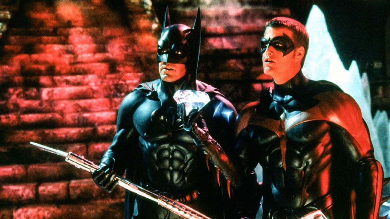 Batman & Robin is listed (or ranked) 2 on the list The Worst Movies In Great Franchises