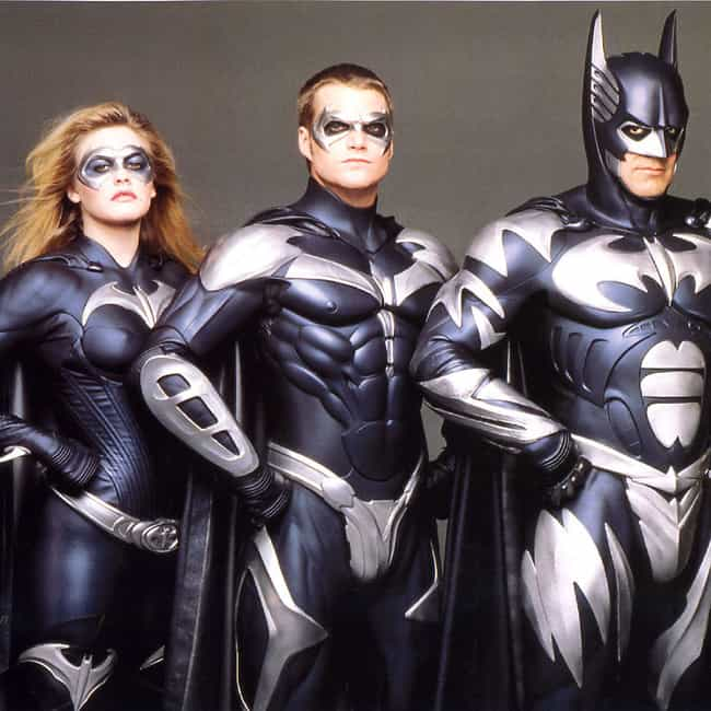 Batman & Robin is listed (or ranked) 2 on the list Bad Movies That Had Great Casts