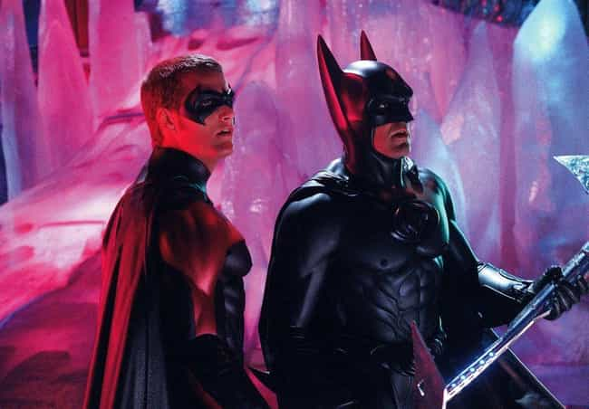 Batman & Robin is listed (or ranked) 1 on the list 9 Superhero Movie Sequels That Just Didn't Live Up to the Hype