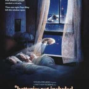 Batteries Not Included is listed (or ranked) 24 on the list The Best Movies About UFOs