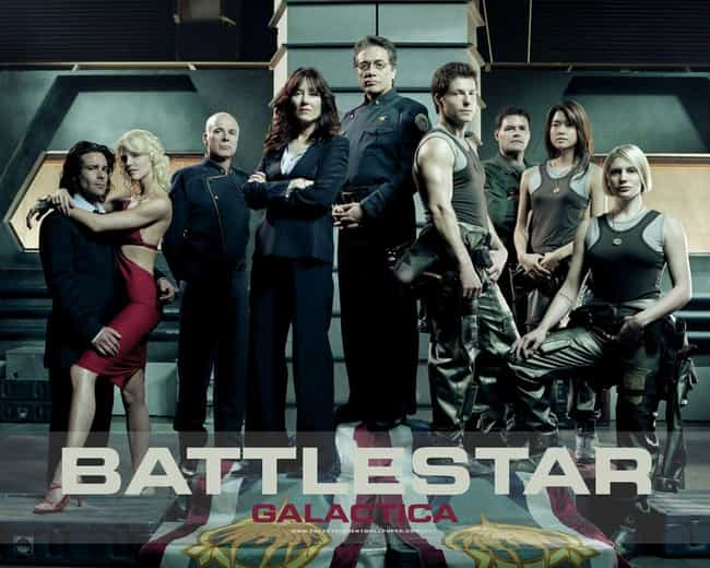 Battlestar Galactica is listed (or ranked) 2 on the list Which Dystopian Show Is Most Predictive Of The Future Of The US?