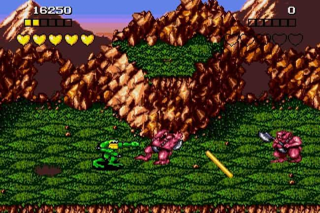Battletoads is listed (or ranked) 1 on the list 20 Classic NES Games That Are So Mind-Numbingly Difficult They're Practically Unbeatable