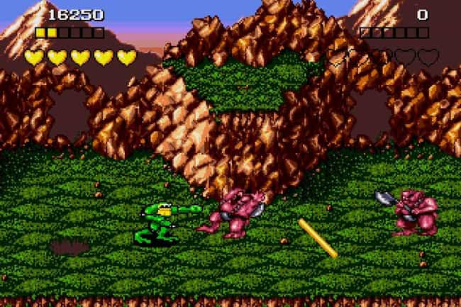 Battletoads is listed (or ranked) 2 on the list 14 Impossibly Hard '90s Games No Kid Today Could Beat