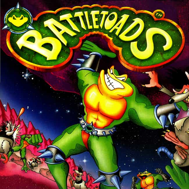 Battletoads is listed (or ranked) 1 on the list The Hardest Video Games To Complete