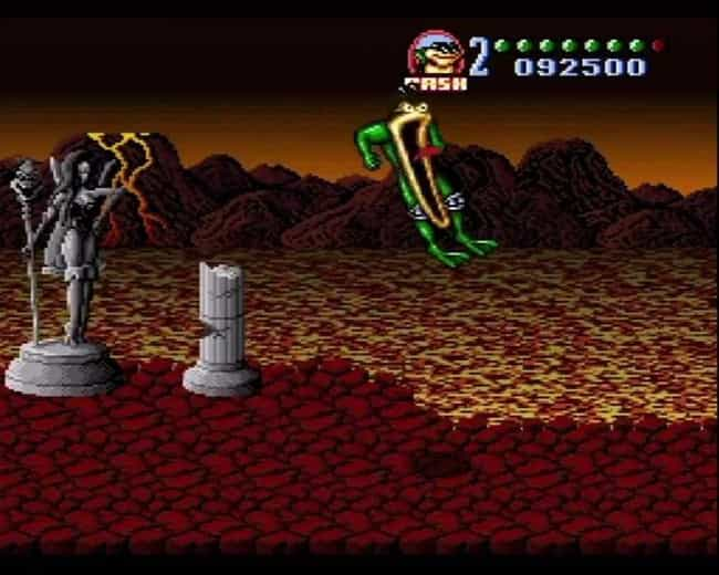 Battletoads in Battleman... is listed (or ranked) 3 on the list 20 Super Nintendo Games That Are So Hard We're Still Trying To Beat Them