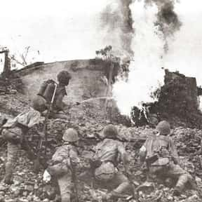 Battle of Bataan is listed (or ranked) 6 on the list World War II Battles Involving the United States Of America