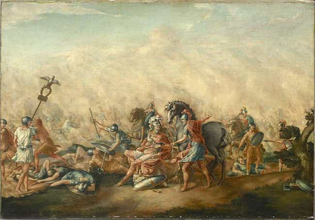 Battle of Cannae is listed (or ranked) 1 on the list The Worst Defeats in Military History