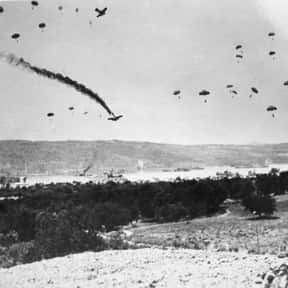Battle of Crete is listed (or ranked) 25 on the list World War II Battles Involving the Nazi Germany