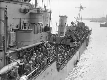 Battle of Dunkirk is listed (or ranked) 2 on the list 10 of the Worst Modern Military Blunders