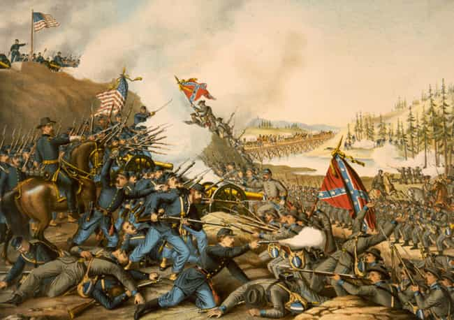 Battle of Franklin is listed (or ranked) 12 on the list The 14 Bloodiest Battles Ever Fought On American Soil
