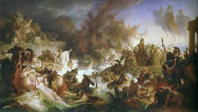 Battle of Salamis is listed (or ranked) 3 on the list The Worst Defeats in Military History