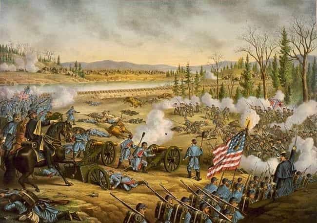 Battle of Stones River is listed (or ranked) 11 on the list The 14 Bloodiest Battles Ever Fought On American Soil