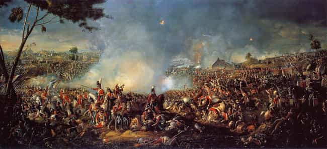 Battle of Waterloo is listed (or ranked) 1 on the list The 12 Most Consequential Final Battles In The History of Warfare