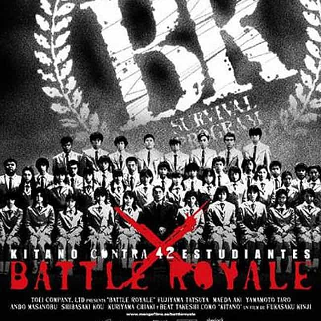 Battle Royale is listed (or ranked) 2 on the list The 6 Greatest Movies Where People Need To Fight To The Death To Stay Alive