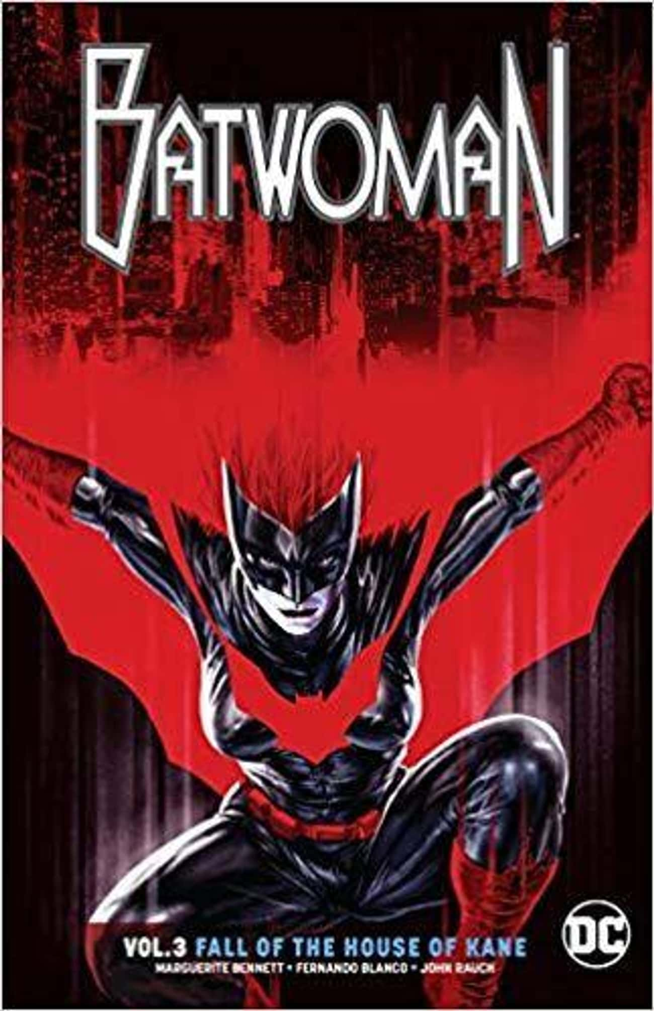 Batwoman is listed (or ranked) 3 on the list 10 Gender Swapped Comic Book Characters