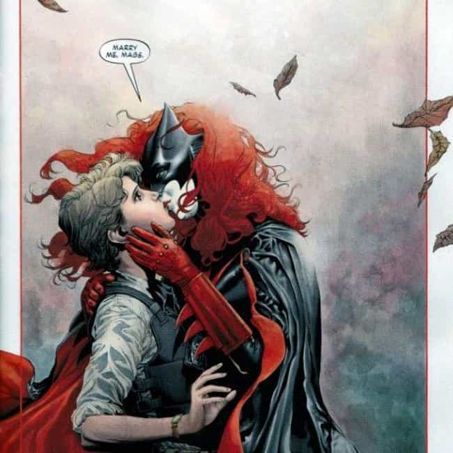 Batwoman is listed (or ranked) 2 on the list The Best Queer Comic Book Characters