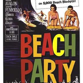 Beach Party is listed (or ranked) 1 on the list The Best Teen Movies of the 1960s