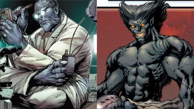 Beast is listed (or ranked) 1 on the list The Best Superheroes With Evil Doppelgangers