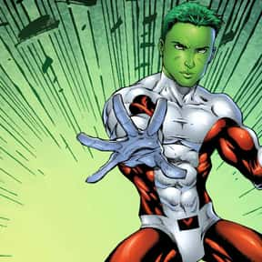 Beast Boy is listed (or ranked) 5 on the list The Best Teenage Superheroes