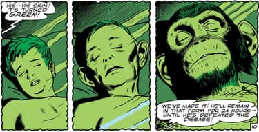 Beast Boy is listed (or ranked) 1 on the list DC Superheroes With The Most Harrowing Origin Stories