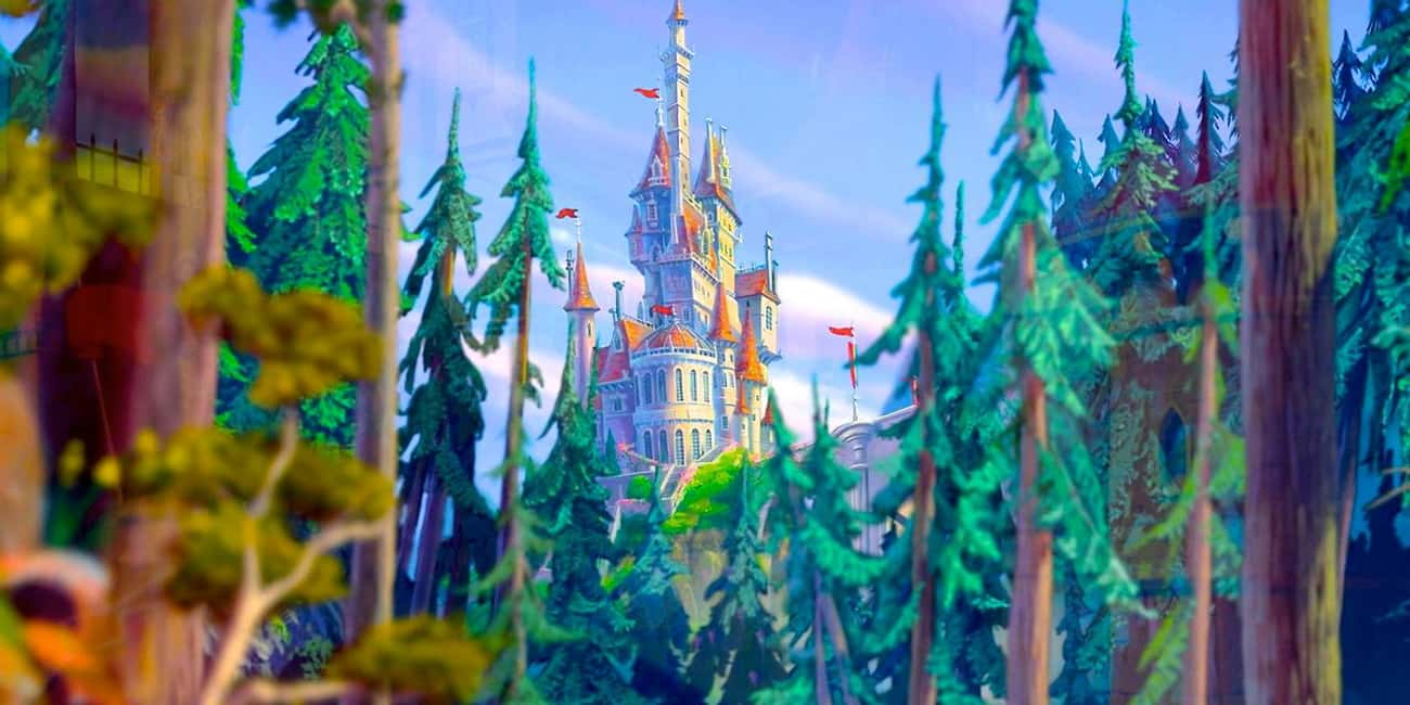 Beauty and the Beast is listed (or ranked) 1 on the list The Best Castles in Disney Animated Films