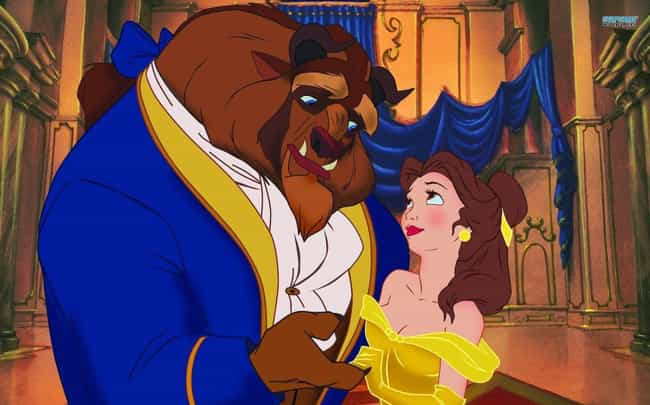 Beauty and the Beast is listed (or ranked) 8 on the list Celebrated Fictional Relationships That Are Actually F'ed Up