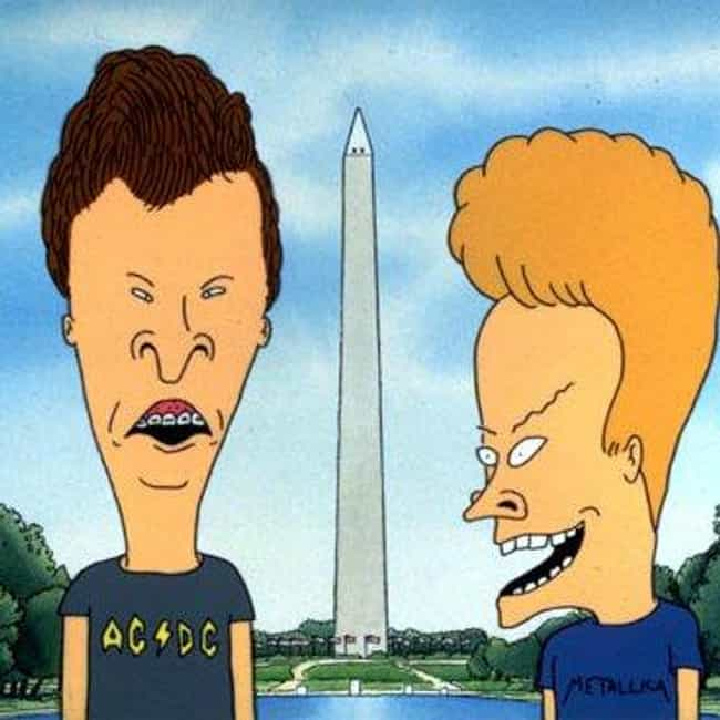 Beavis and Butt-head is listed (or ranked) 1 on the list The Best MTV Cartoons You'll Never Forget