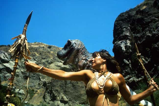 Dinosaur Island is listed (or ranked) 4 on the list The Weirdest Dinosaur Movies That Are Too Awful To Ignore