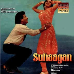 Suhaagan is listed (or ranked) 17 on the list The Best Sridevi Kapoor Movies