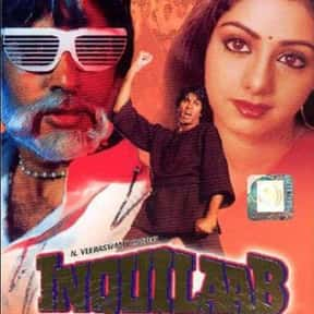 Inquilaab is listed (or ranked) 4 on the list The Best Sridevi Kapoor Movies