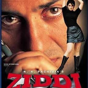 Ziddi is listed (or ranked) 17 on the list The Best Raveena Tandon Movies