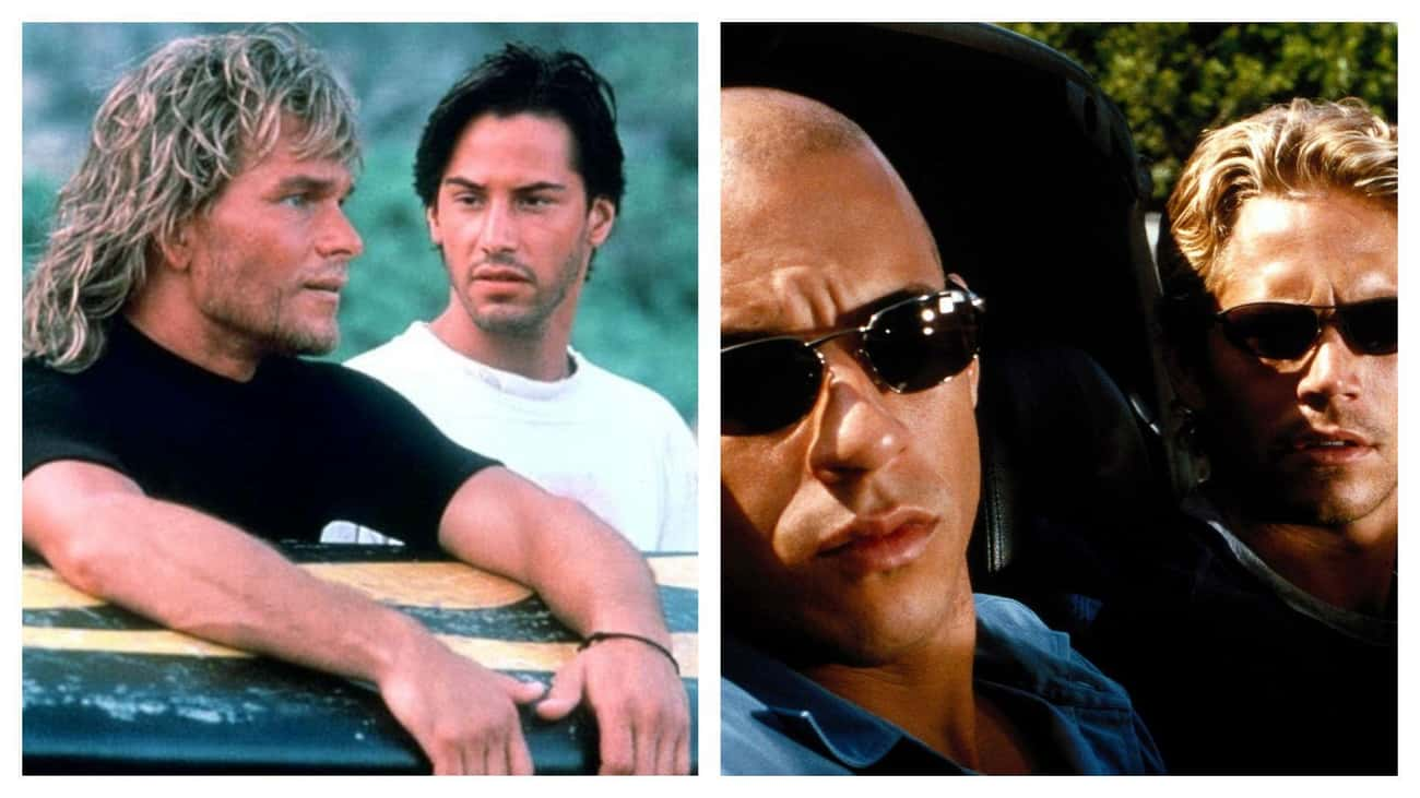 'The Fast and the Furious' Jus is listed (or ranked) 2 on the list Movies That Basically Have The Same Plot