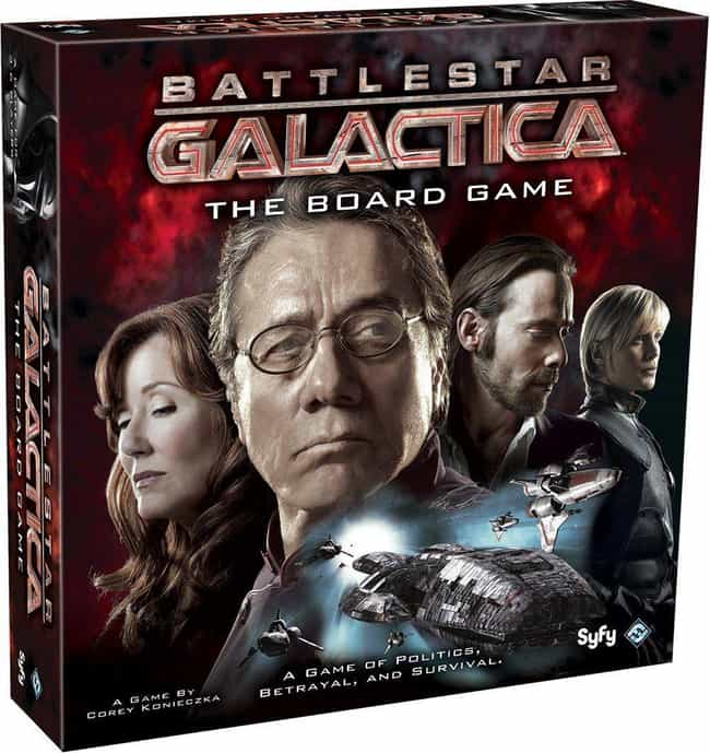 Battlestar Galactica is listed (or ranked) 4 on the list The Most Popular Cooperative Board Games