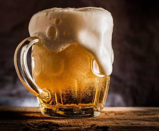Beer is listed (or ranked) 3 on the list The Best Baking Soda Substitutions For Quick Breads
