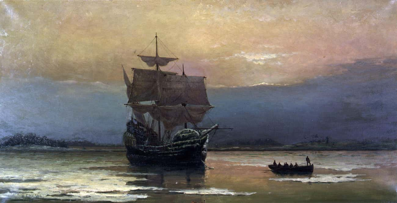 The Mayflower Landed On Plymou is listed (or ranked) 1 on the list What Kind Of Booze Were Americans Getting Drunk On Through History?