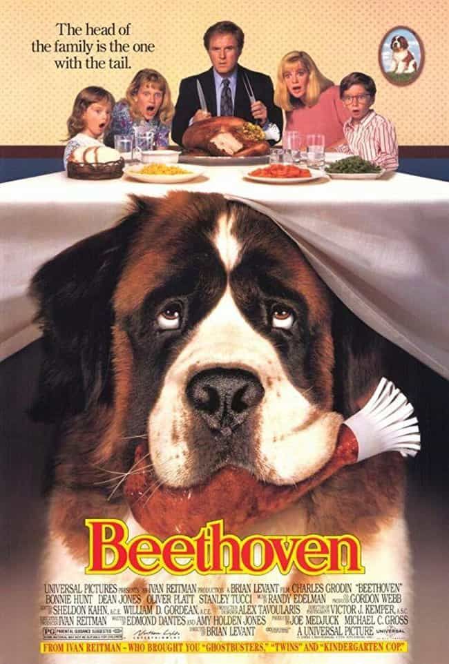 Beethoven is listed (or ranked) 1 on the list The Best Beethoven Movies