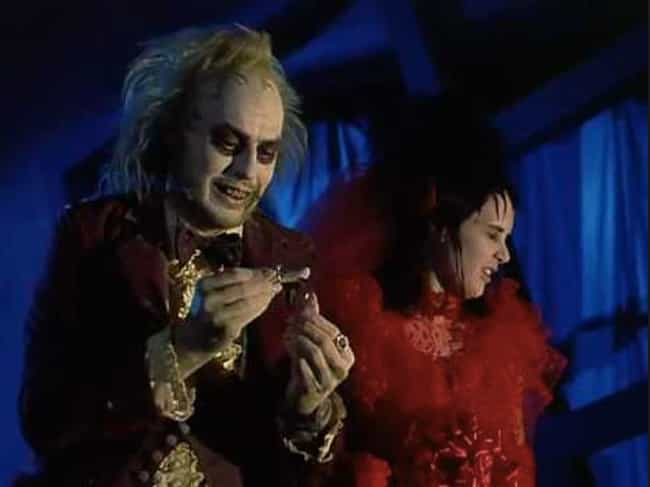 Beetlejuice is listed (or ranked) 4 on the list The Best Wedding Objection Scenes in Film History